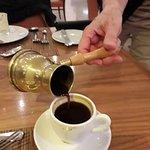 frischer türkischer Kaffee