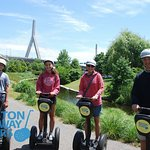 Rated ⭐⭐⭐⭐⭐ on #tripadvisor and the only #tour in #Boston that gets #teenagers as excited as the parents to learn some #history! 😎www.bostonsegwaytours.net