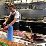 Chef Alanna Sapwell hands on