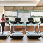 The Health Club offers a wide range of facilities including a fully equipped gym with zero-weights, strength and cardiovascular training equipment, indoor and outdoor Jacuzzis, saunas and steam rooms, and a 25-meter swimming pool.