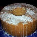 Key Lime Pound Cake.