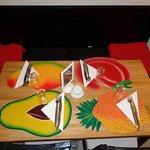Sets de table typique d'Haïti