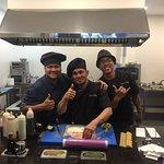 Great kitchen team
