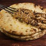 Осетинские Традиционные Три пирога и шашлыки