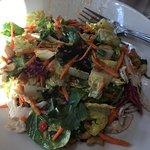 Sheila salad with very tasty dressing