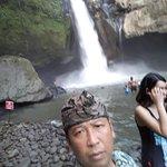 Metra Putra at Git Git waterfall