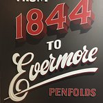Penfold's from 1844 to Evermore, this poster is in the Barossa Valley Cellar door, George K Wine Valley Tours taking pictures for you all to share.