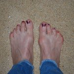 Toes in the Cabo sand!