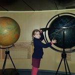Глобус с изображением созвездий, которые видны на небе с Земли