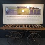 Original Workhouse Coffin Cart or Bier. Carts like this were in regular use during the Famine as the rate of deaths from starvation and disease soared.