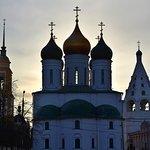 Успенский кафедральный собор. Вечер. Вид с востока