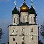 Успенский кафедральный собор. Вечер. Вид с запада