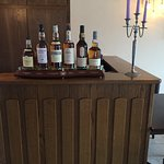 mooie collectie single malt whiskey's