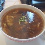 Sechuan Suppe im Menü inbegriffen