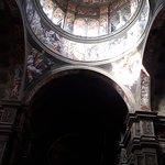 La cupola vista dall'interno