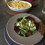 .herring salad and sheperd's pie