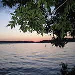 Typical sunset of the 11 mile mark of the Lake of the Ozarks.
