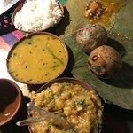Litti, Chokha, Dal, etc
