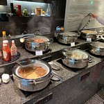Warm dishes - eclectic mix