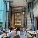 High Ceiling - I love the restaurant decor