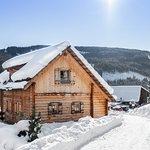 Chalet Dorf Lungau direkt an der Skipiste im Skigebiet Aineck/Katschberg.