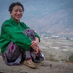 Pure and happy people in Bhutan .