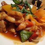 kurczak z woka w sosie słodko-kwaśnym