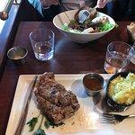 le plat du jour : rouelle d'agneau