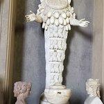 Hermaphrodite goddess at Vatican Museums