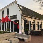 De ingang van 't Amsterdammertje in Loenen.