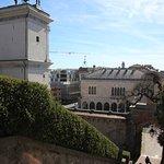 Blick auf die Piazza della Libertá
