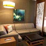 Sitting area/sofa bed