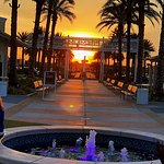 Sunset at Premium Outlet