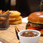 Chef's Chicken Burger.
