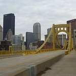 Downtown Pittsburgh & 7th St Bridge