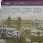 Three Sisters Bridge History Board