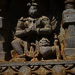 Some amazing statues of Gods and Goddesses on the outer walls