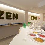 """Zen zoo es un juego de palabras que le da el significado de """"tapioca"""" en mandarín."""