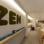 Zen representa la naturaleza de nuestras bebidas y tés