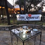 What a great wedding anniversary and an absolute perfect ending to our safari.