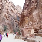 The Siq was an experience in itself