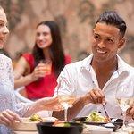 Dining at Seasons Cafe, Restaurant & Bar at Novotel Sydney Airport