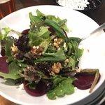 Walnut Beer Salad.