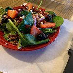 Excellent fresh fruit and homemade dressing