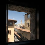 View on Florence from the double room with view