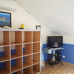 Chambre 2 - cottage - TV - climatisation