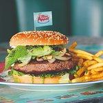 Unsere leckeren Burger.