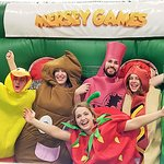 Mersey Games in Manchester are great for Stags Hens birthday or any group event :)