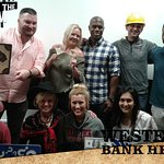 We escaped the room with a 1:30 to go! Super fun.