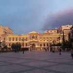 Kotzia Square in Athens at sunset